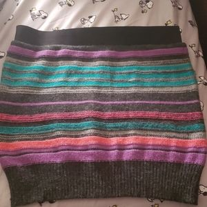 sweater skirt, dress up or down